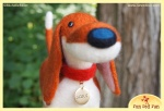 Run Red Run Needle Felted Scout Untold Tales of Bigfoot
