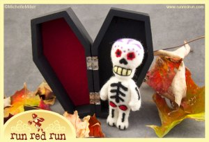 Run Red Run Day of the Dead skeleton