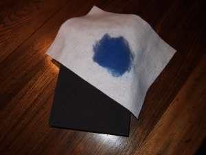 Run Red Run Needle Felting Pad Tuesday Tip
