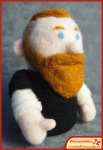 Run Red Run Needle Felted Mike Phoenixterdam