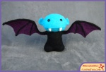 Run Red Run Needle Felted Vampire Bat