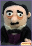 Run Red Run Needle Felted Edgar Allan Poe