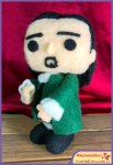 Run Red Run Needle Felted Hamilton Funko Pop